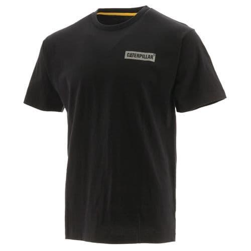 Caterpillar Icon Block S/S Tee Tee Shirts Black